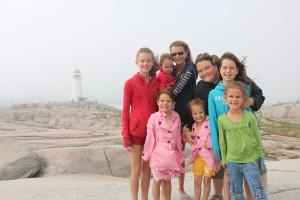 Family- Peggy's Cove Nova Scotia