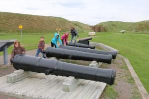 Fort Beausejour- Entrance