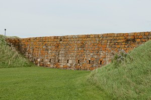 Fort Beausejour-Exterior Wall Facing Water