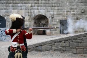 Halifax Citadel Gun Demonstration 2