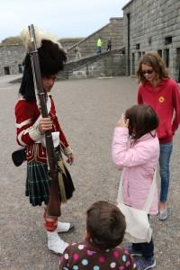Halifax Citadel Gun Demonstration