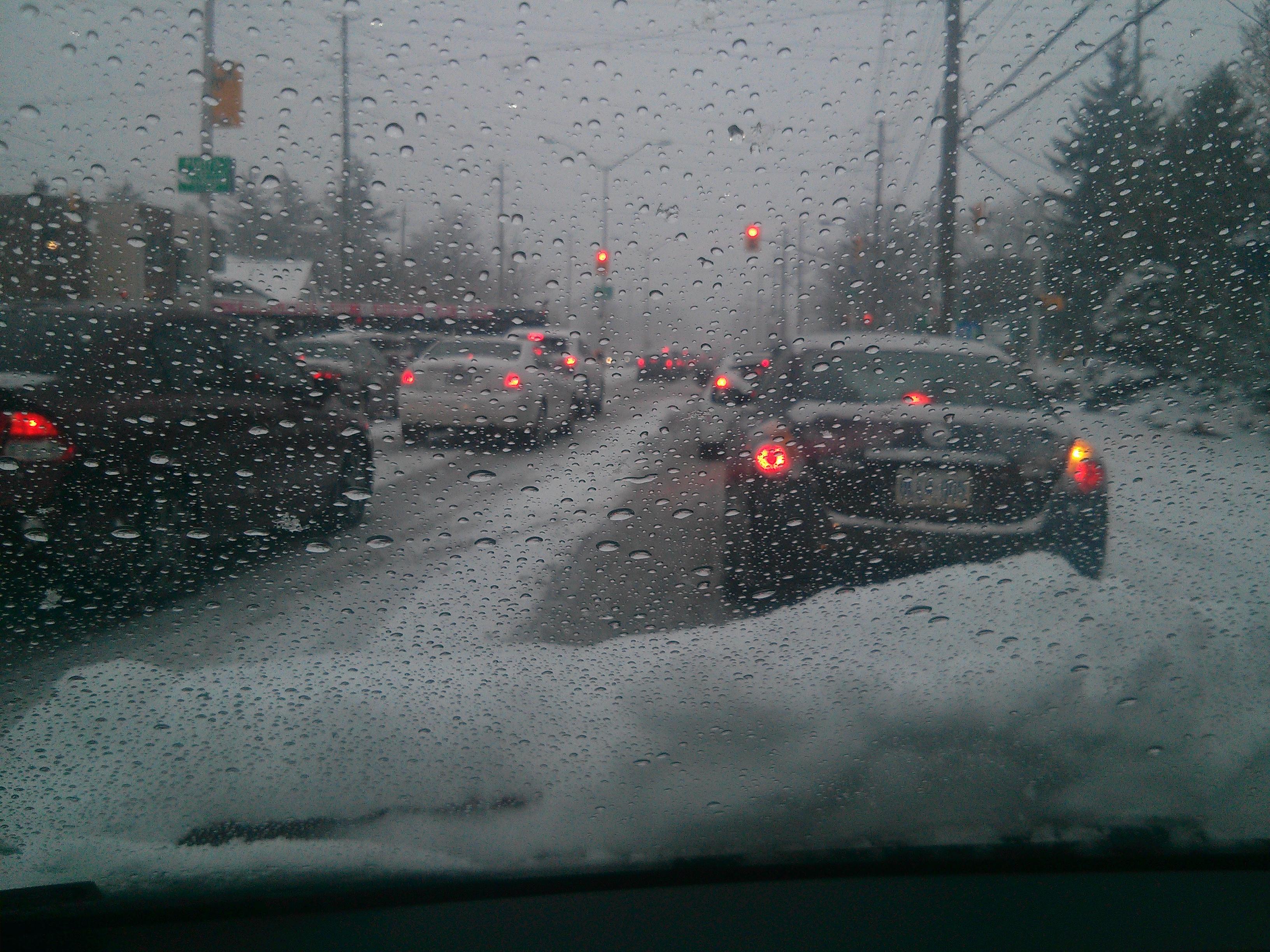 Not fun driving