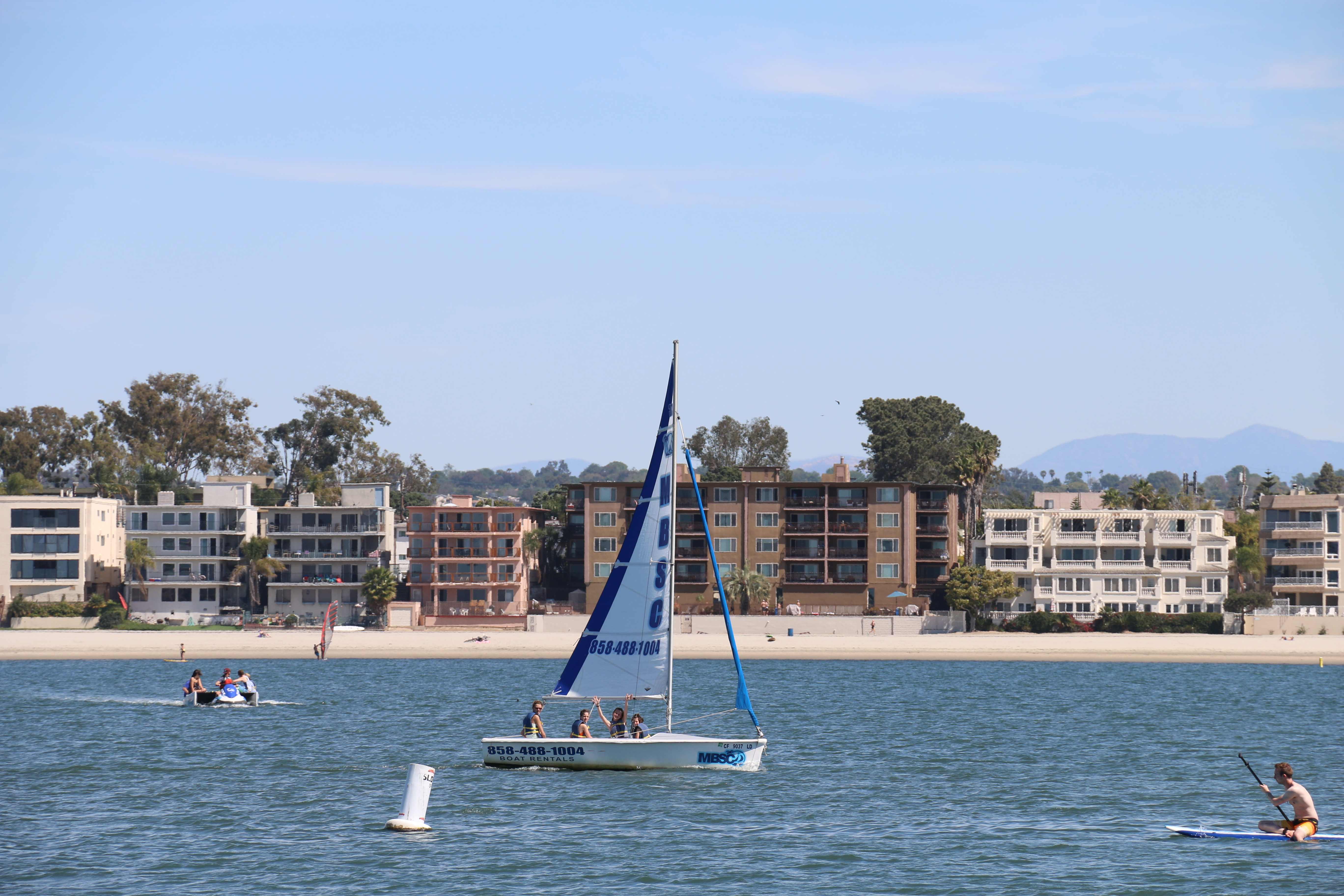 Day 23 – Mission Bay Sailing