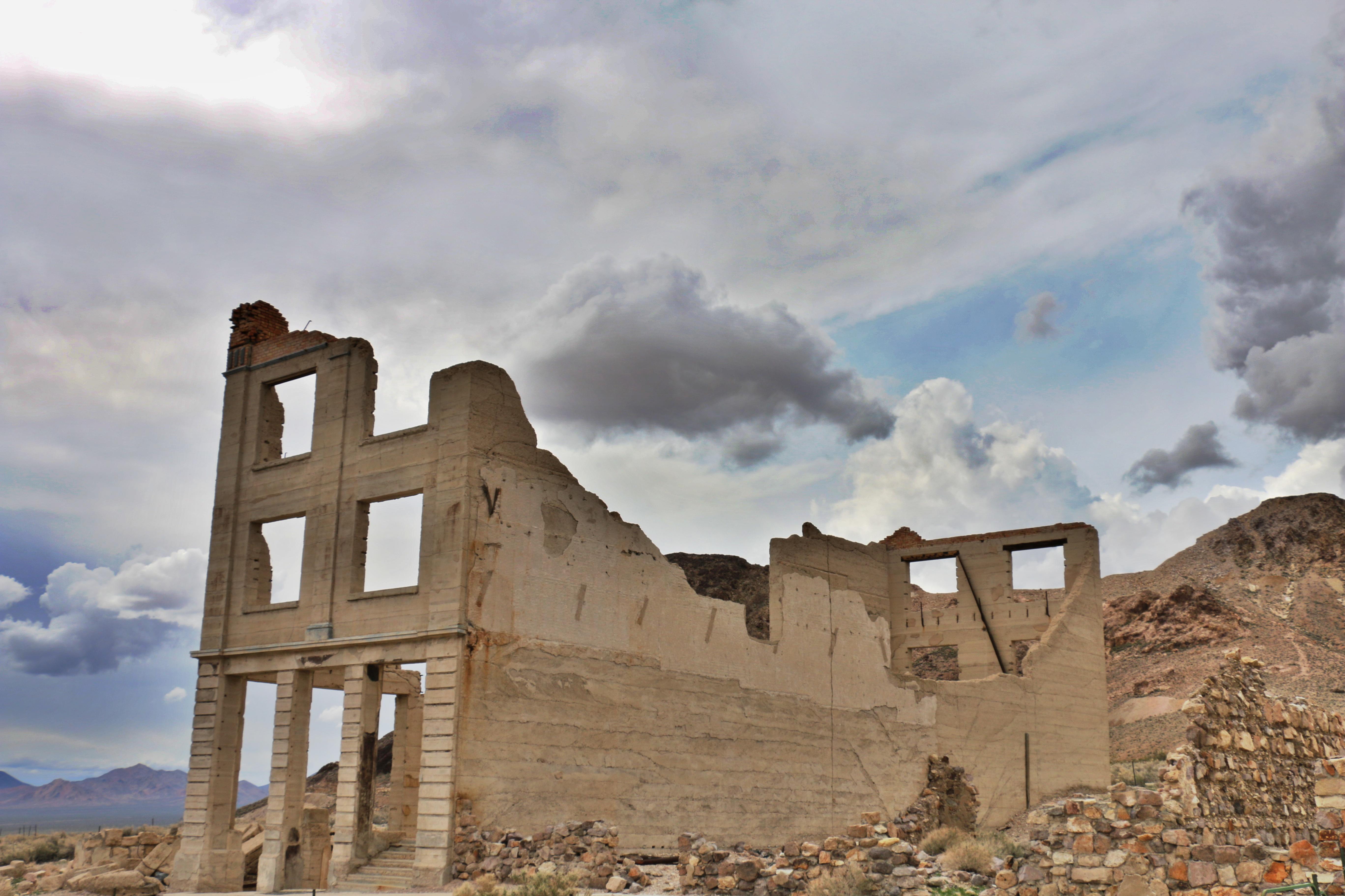 Day 10 – Rhyolite Ghost Town (Death Valley)