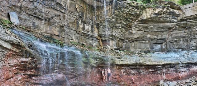 Exploring Owen Sound Waterfalls