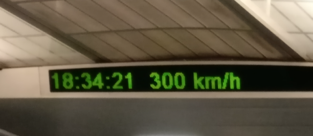 Day 70 – High Speed Train From Airport