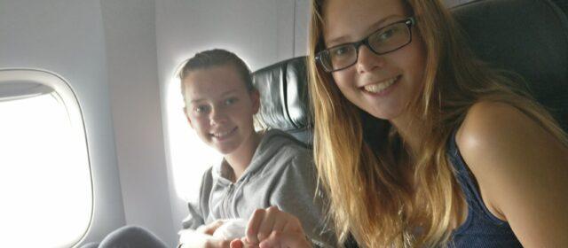 Day 1 – in flight