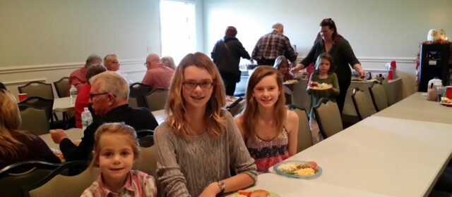Thanksgiving dinner at KOA